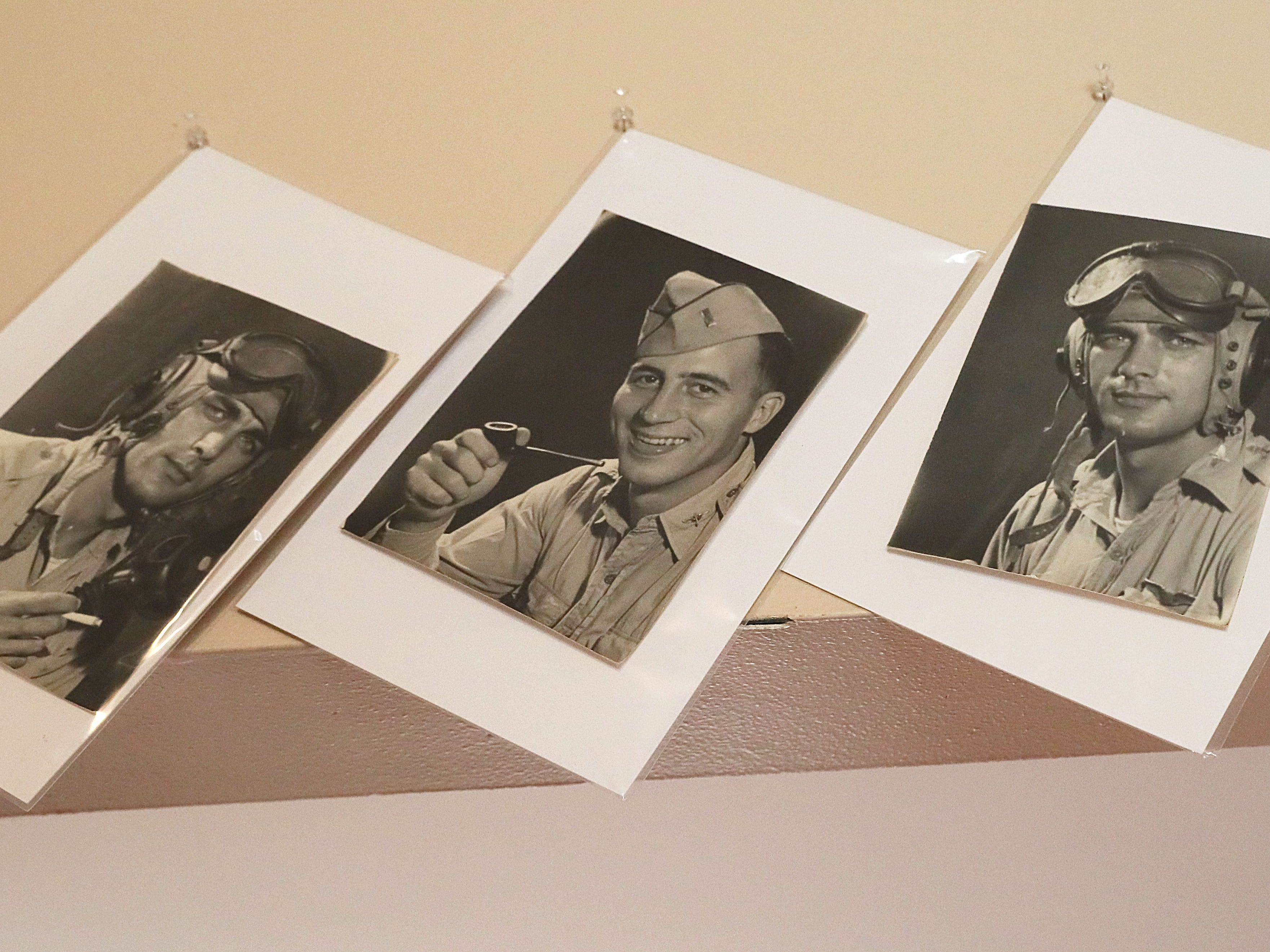 These are photographs that Jake Skocir took of friends during his time in the 17th Photo Reconnaissance Squadron during World War II.