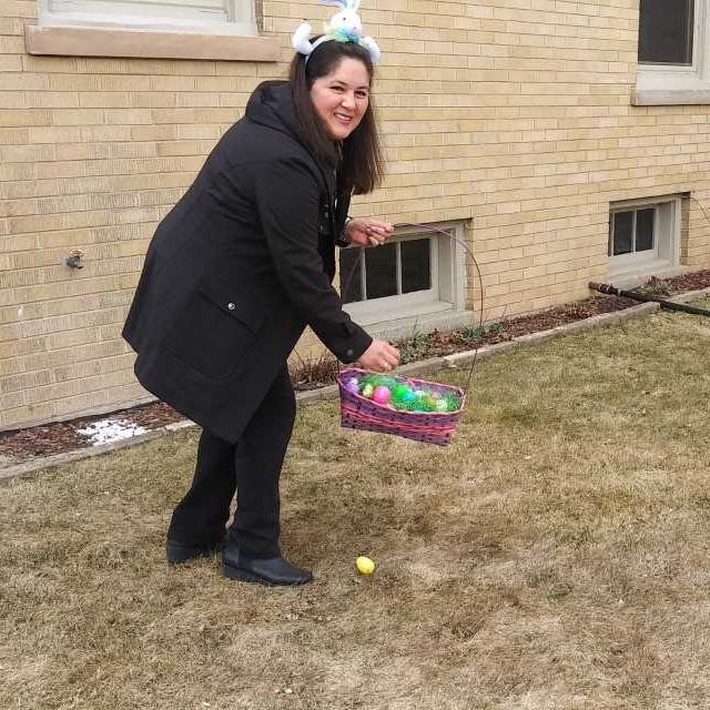 Is the Easter Bunny too busy to hide eggs this year? You can hire this Cudahy mom to help you out.