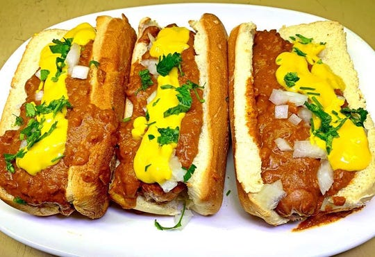 While the name would suggest seafood, Sea Board Bar & Grill aims to serve a variety of specialties from all the way up and down the Eastern Seaboard, including Coney dogs from Coney Island.