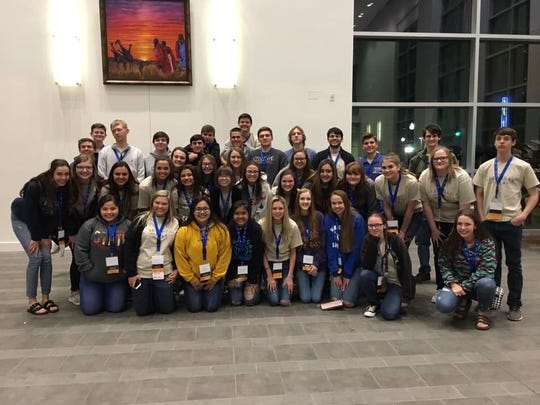 Students from the Cotter FBLA Chapter recently competed at the state FBLA competition.