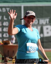 Shira Brown, a Mendham teacher and Roxbury resident, has participated in the Run to Home Base 9K at Fenway Park.