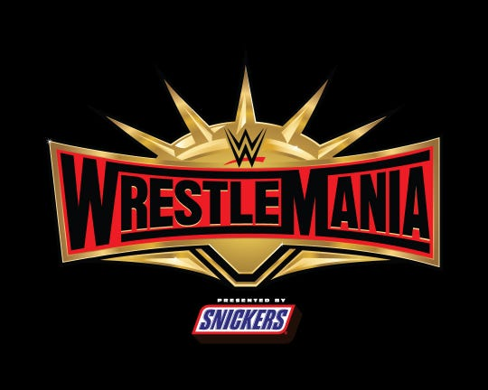 WrestleMania is this Sunday.