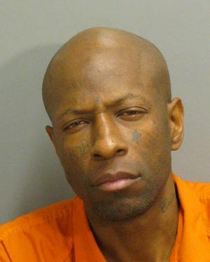 Eldred Leonard Hill was charged with domestic violence burglary.
