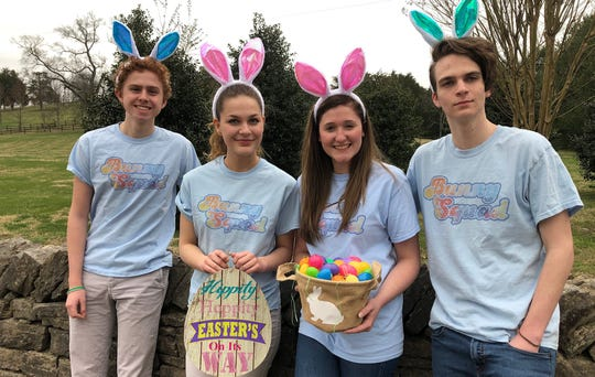 Students from Franklin Classical will deliver treat-filled Easter eggs as a fundraiser for an academic competition.