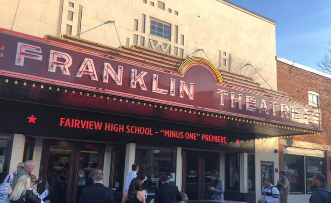 "The Franklin Theatre was the site of the world premiere of the Fairview High feature film production ""Minus One"" on March 27, 2019."