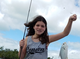 First catch of spring break for Spencer Helvie,12, from Bexley, Ohio. She caught and released this off Dog Beach using live shrimp.