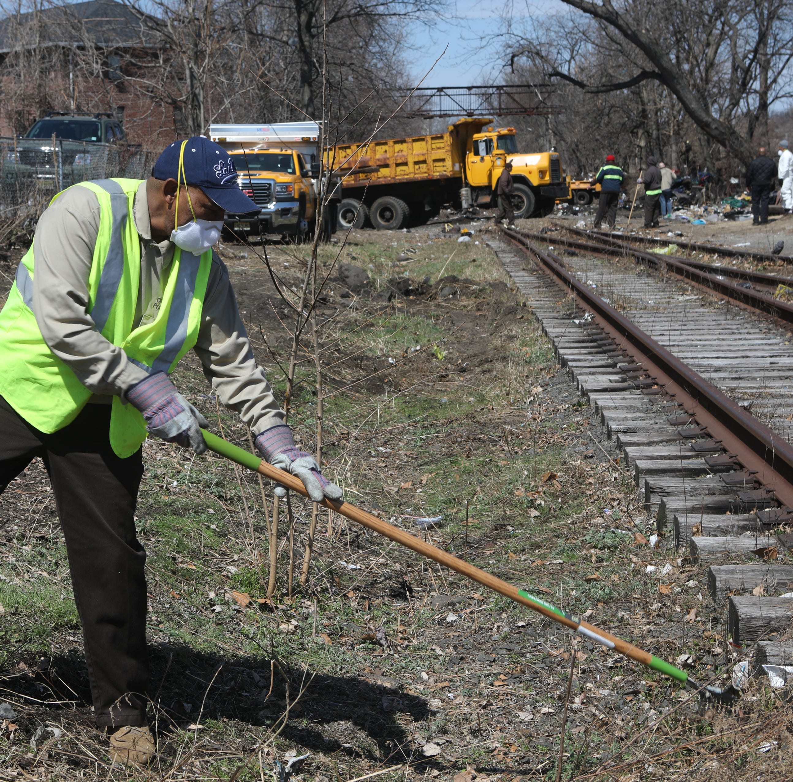 Life on the other side of Passaic's abandoned railroad track may soon change
