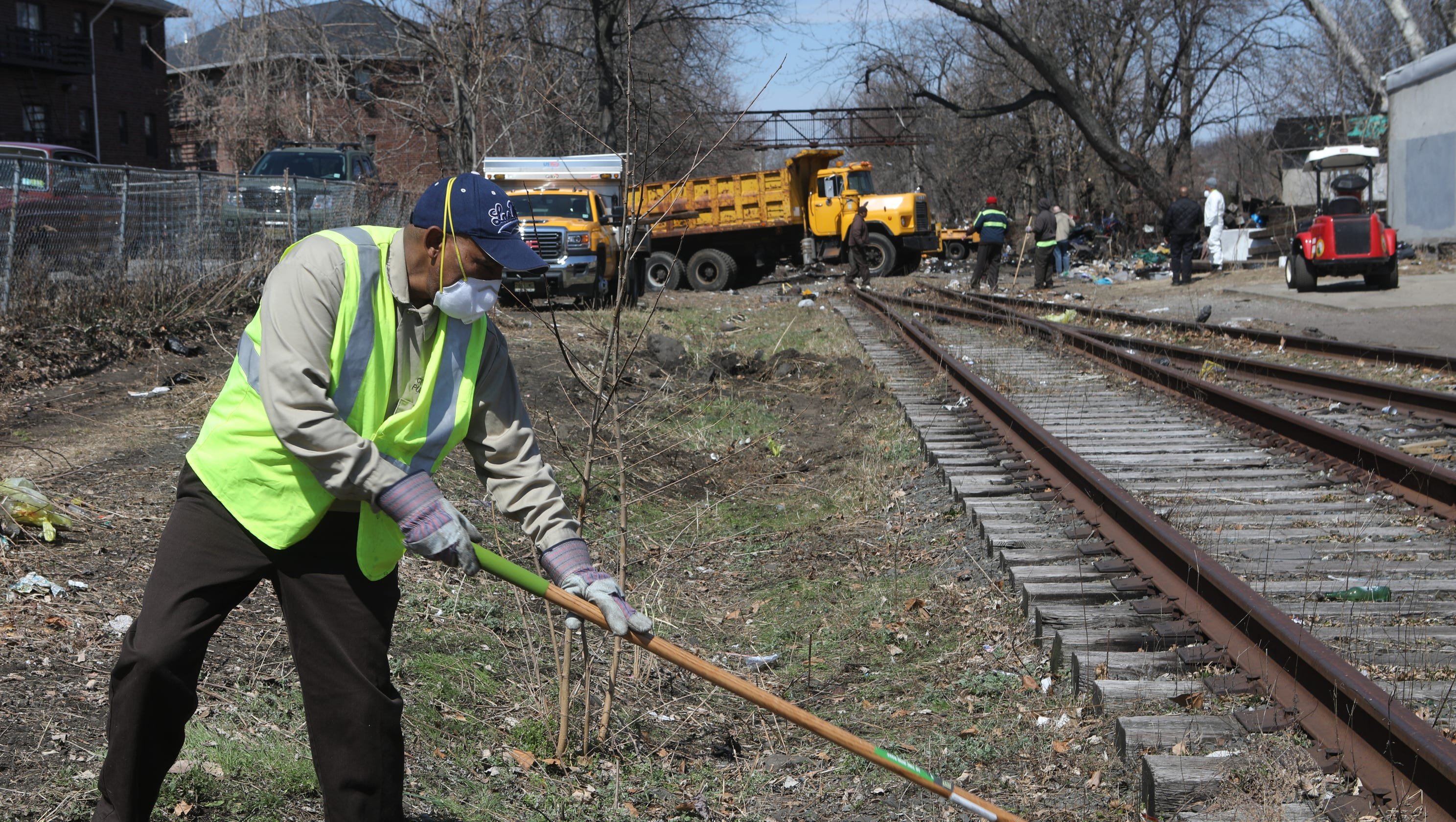 Life on the other side of Passaic's abandoned track may soon