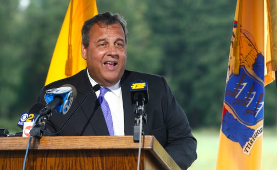 Former governor Chris Christie will be honored by New Jersey sportsmen on Sunday.