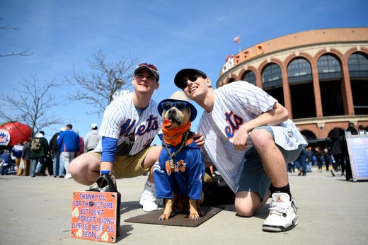 New York Mets, Washington Nationals announce lineups for Sunday