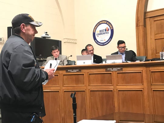 Bergenfield resident John Smith has filed an ethics complaint with the state against the chairman of the borough's zoning board.