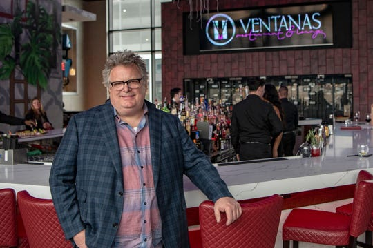 David Burke, the culinary managing director at Ventanas at the Modern poses for a photo in Fort Lee on Tuesday April 2, 2019.