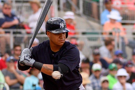 New York Yankees shortstop Thairo Estrada.