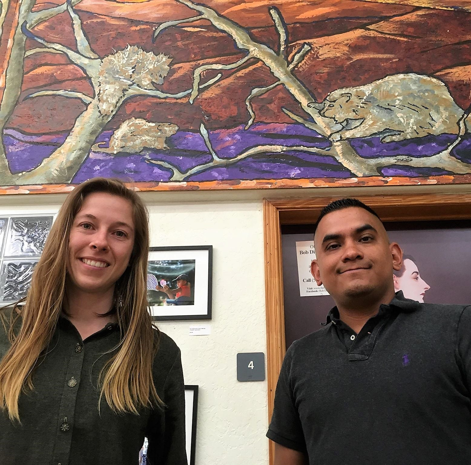 Art exhibit presents beauty and human connection in political struggle