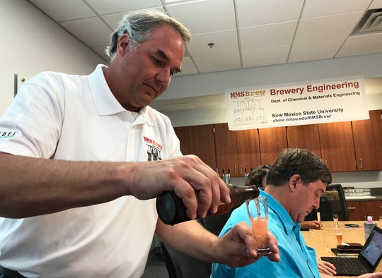 A brewery tour and hops sensory demonstration will be performed by NMSBrew during the ACES Open House event, which will take place from 10 a.m. to 2 p.m. April 6 at New Mexico State University's College of Agricultural, Consumer and Environmental Sciences. The open house will showcase the college's many programs and exhibits to the public.