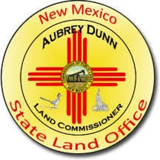 Former State Land Commissioner Aubrey Dunn used this logo.