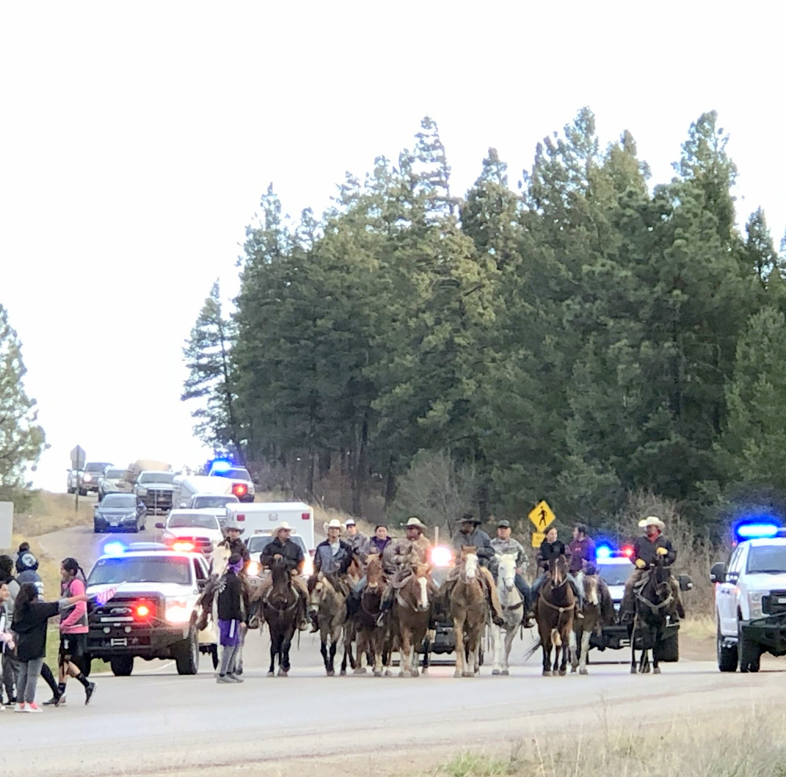 Annual blessing run reminds tribal members to give thanks for their land