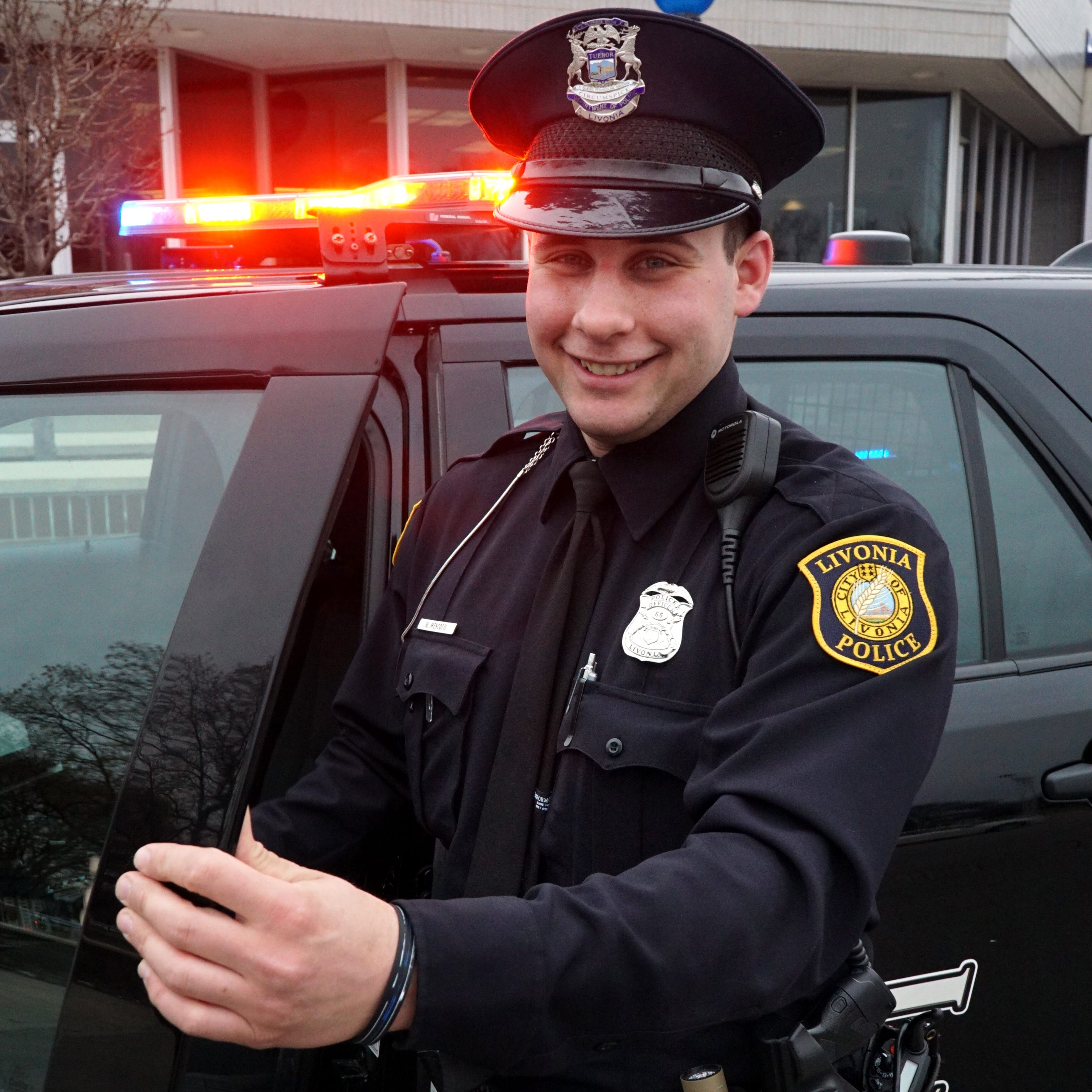Rookie cop among 50 honored by Livonia police last week