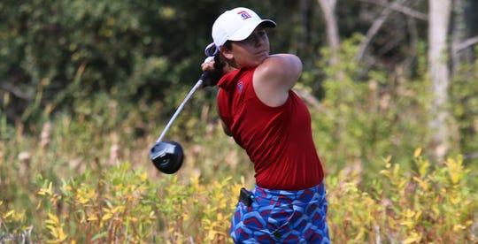 Novi's Alexa Hatz picked up her first career college win.