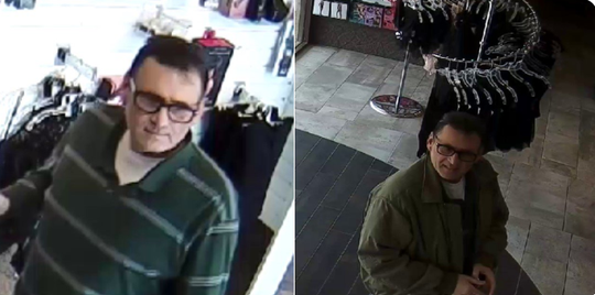 Plymouth police say this man exposed himself to a customer at Lover's Lane.
