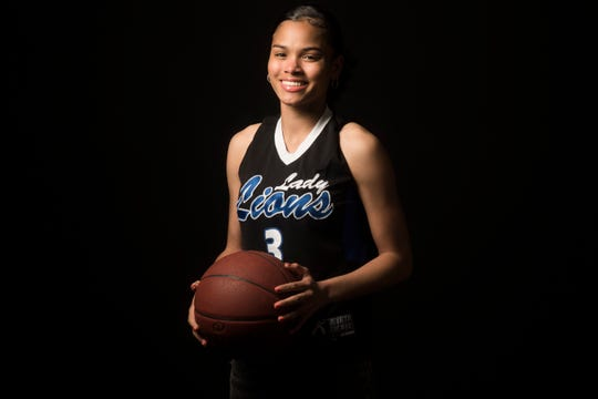 Nina Wallace, girls' basketball player from Cathedral City High School