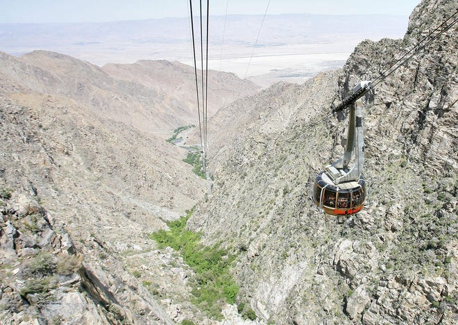 This file photo shows the Palm Springs Aerial Tramway.