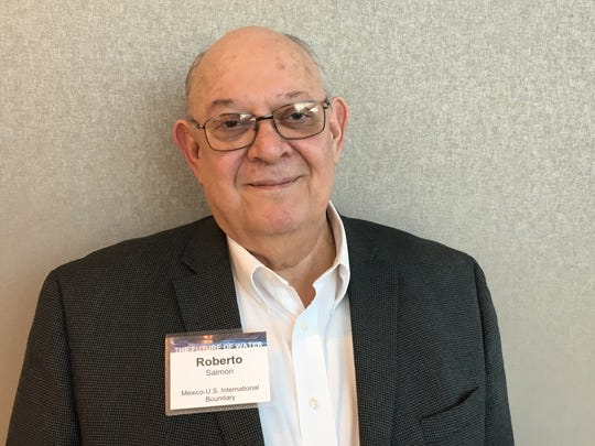 Roberto Salmón, Mexico's commissioner on the International Boundary and Water Commission, poses for a photo at a forum focusing on the Colorado River in Phoenix on March 30, 2019.