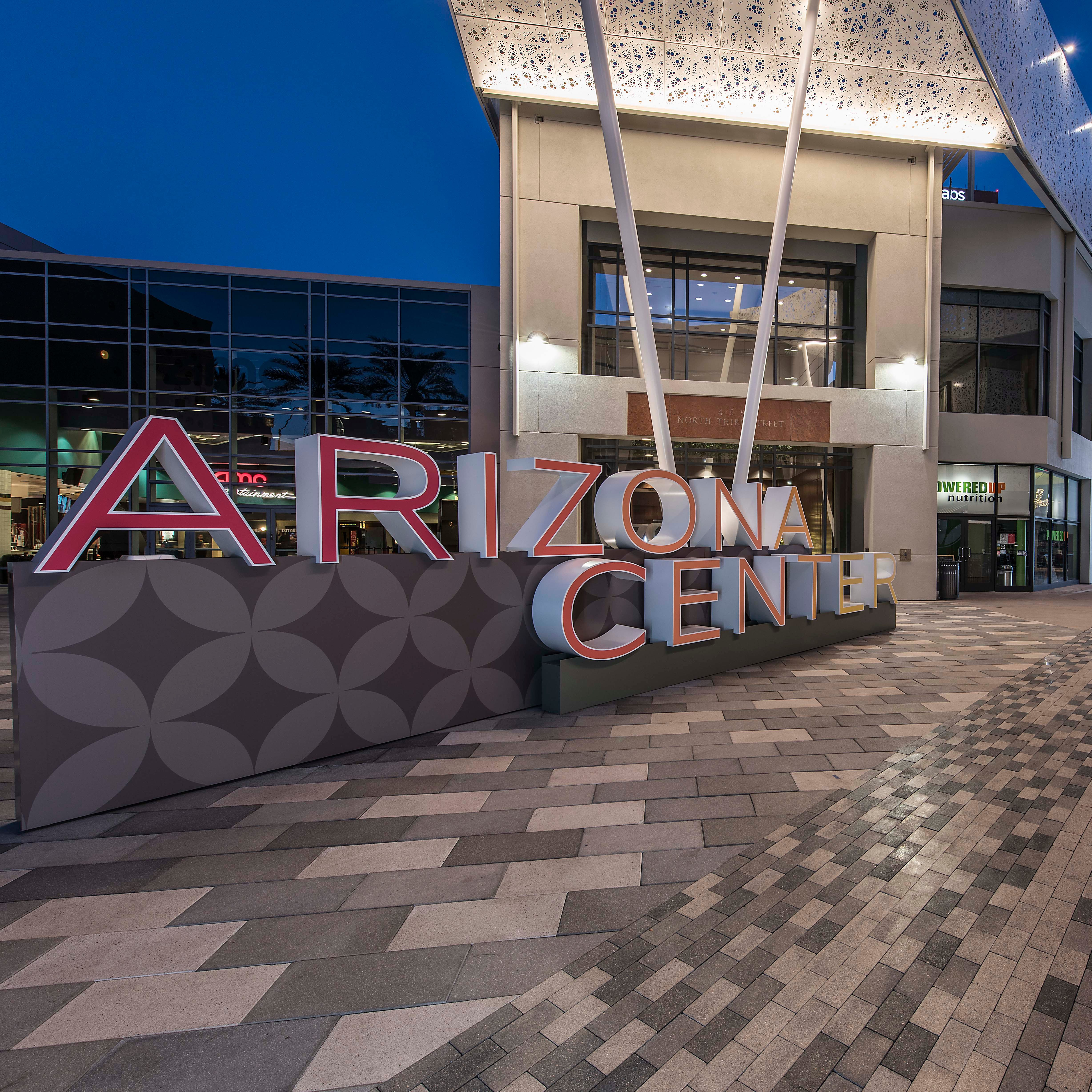 Downtown Phoenix's Arizona Center: Its history and future development