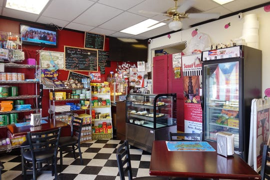 The interior of Sweet Land Cake in Phoenix.