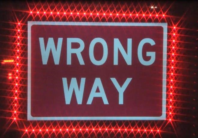 Wrong-way drivers