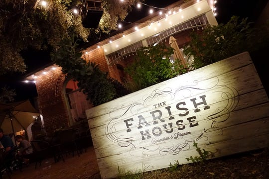 The exterior of The Farish House in Phoenix.