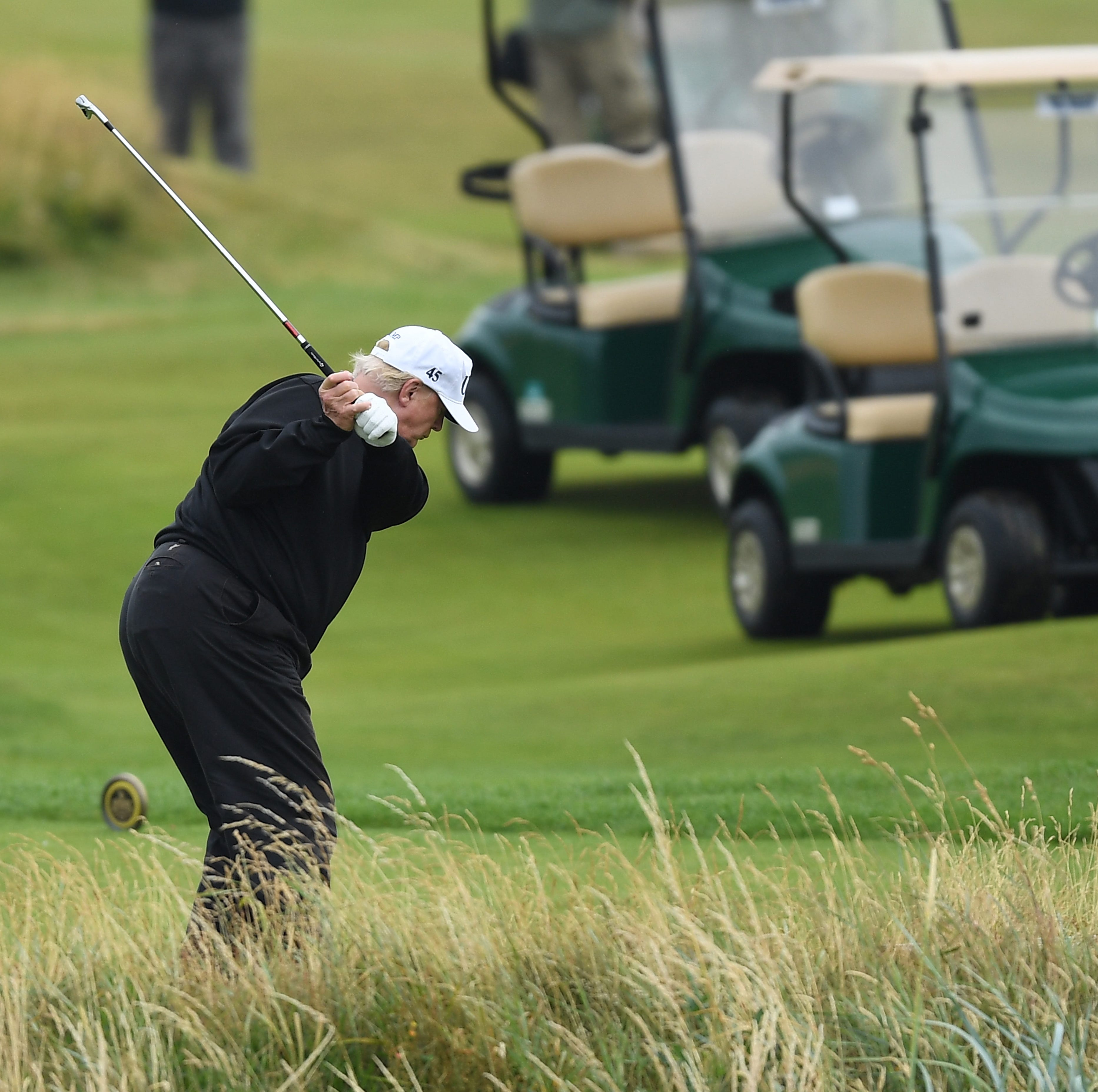 Rick Reilly says President Trump cheats at golf, and the writer is really angry about it