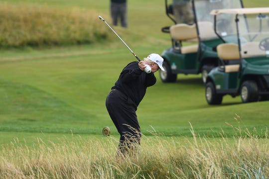 """If you're going to cheat at golf, you're to cheat on your taxes, cheat on your wife and cheat on — what else?"" Rick Reilly says of President Donald Trump."