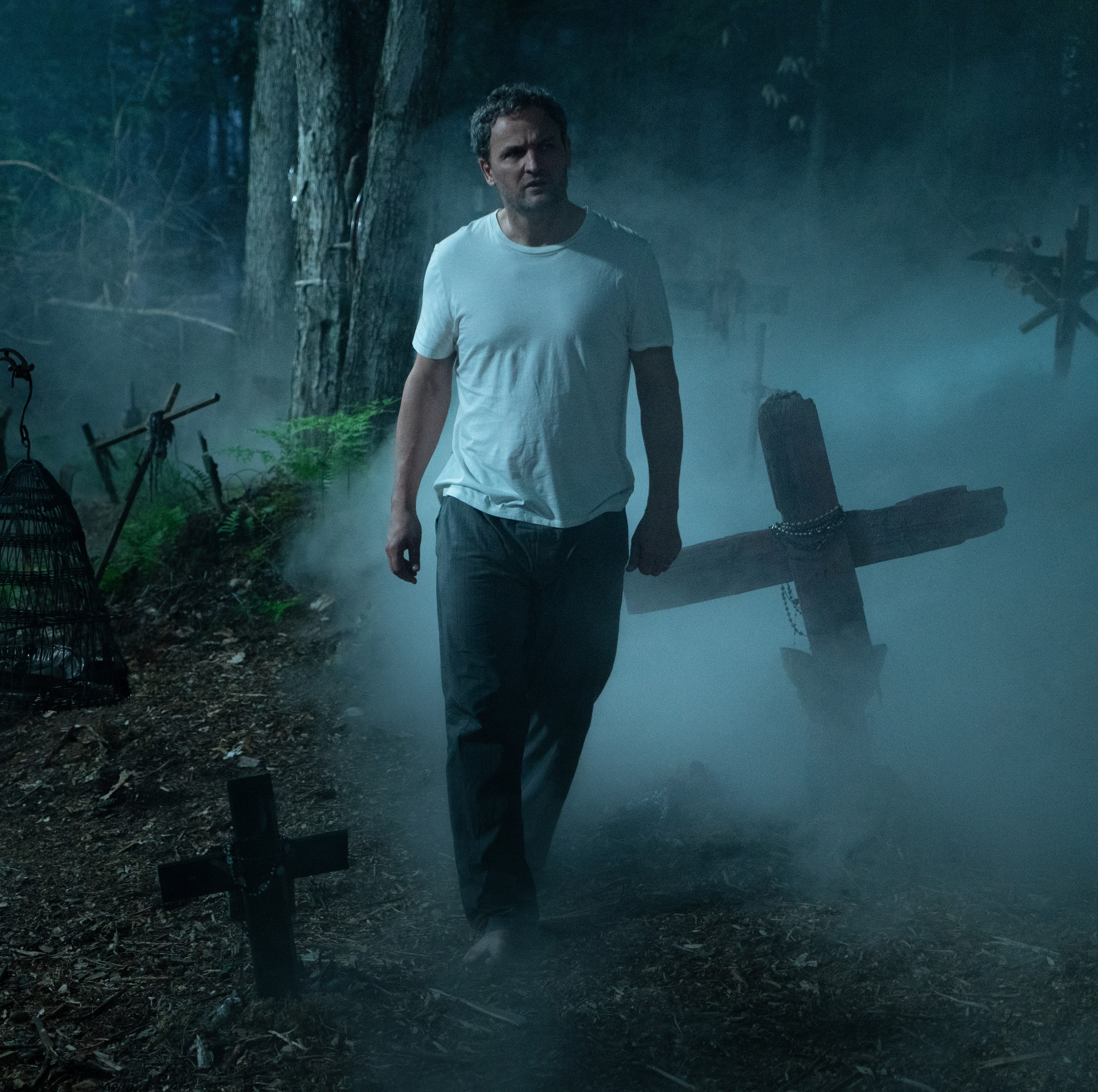 """Jason Clarke stars in """"Pet Sematary."""" From the review: """"You believe in Louis' descent into a kind of madness, which makes you buy into the story."""" (4 stars)"""