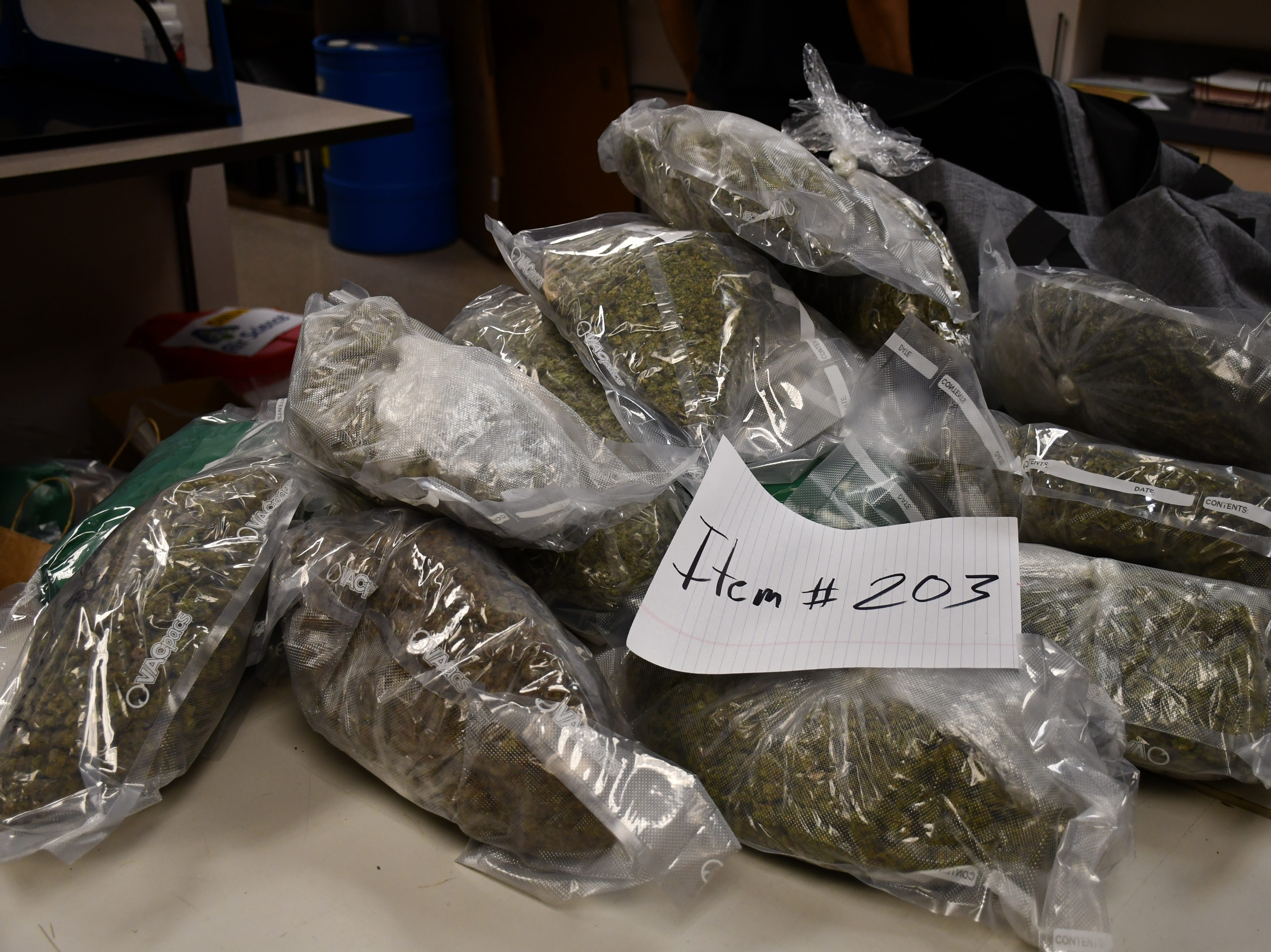 Maricopa Country Sheriff Office detectives seized roughly 95 pounds of high grade marijuana and 190 pounds of narcotic cannabis from a drug trafficking operation in Phoenix.