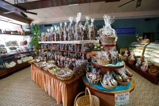 Caffe Aurora's Easter treats in the City of Poughkeepsie on April 4, 2019.