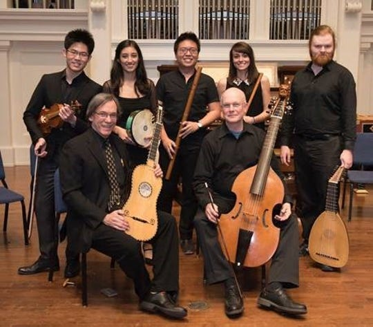 The Peabody Conservatory Renaissance Ensemble will perform Sunday at St. John's Episcopal Church.