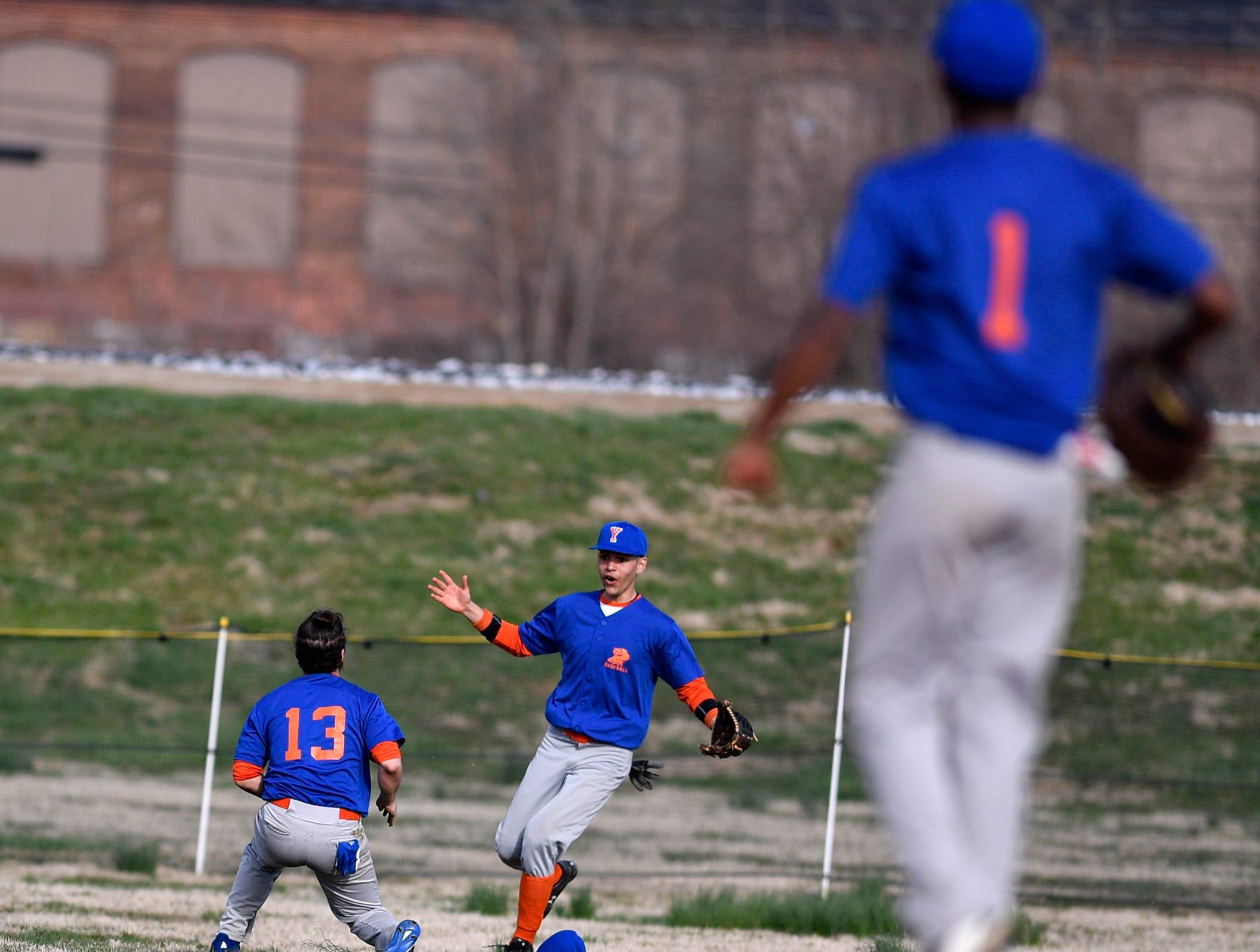 Hanover faces York High in baseball, Thursday, April 4, 2019. John A. Pavoncello photo