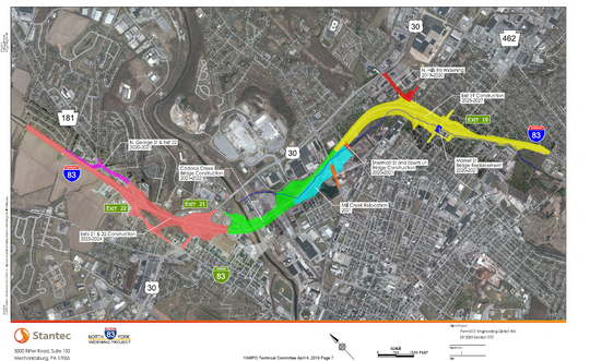 Interstate 83 widening will start in a few years. Here are the latest plans and timeline.