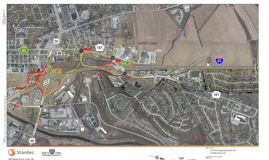 Improvements will be made to the North George Street and Route 30 interchanges.