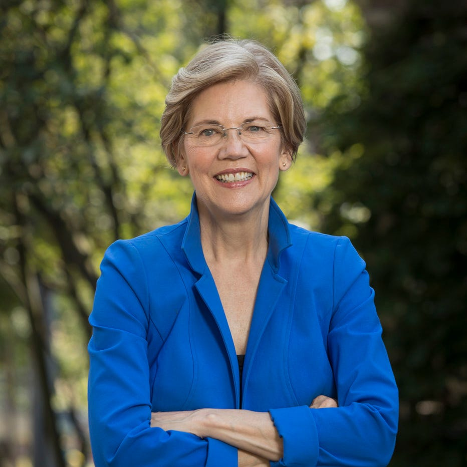 Elizabeth Warren in Reno: Democrats will need to have more than just an anti-Trump message