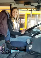 Rebecca Gates, a bus driver for the Hilton Central School District , saved a choking child while on the job on April 2, 2019.