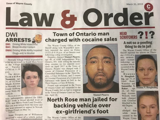 The Times of Wayne County has published the mugshots of everyone arrested in the county for over 30 years.