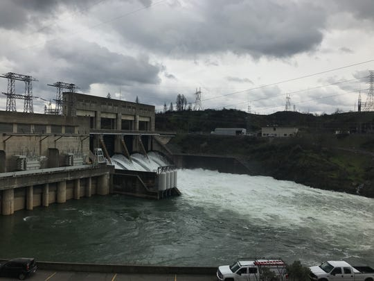 Federal officials increased the releases below Keswick Dam on Thursday, April 4, 2019, to 30,000 cfs.