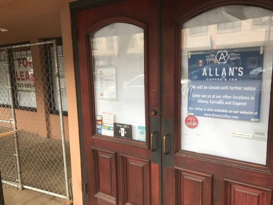 Allan's Coffee & Tea, located at 220 Liberty Street NE, pictured on April 2, 2019.