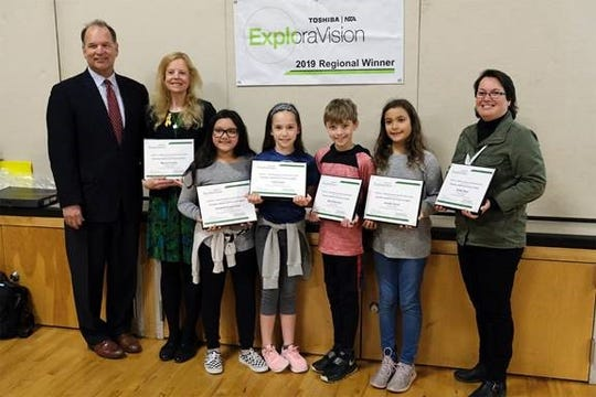 A team from Lee Elementary School is one of 24 regional winners in the 2018-2019 Toshiba/NSTA ExploraVision Awards.