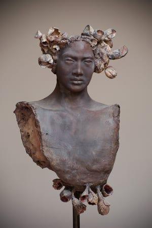 Work by artist Alejandra Almuelle featured in San Angelo Ceramic Invitational Exhibition at SAMFA.