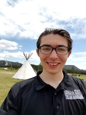 Carl Petersen, a junior at Dakota State University, will use a $10,000 Dreamstarter grant to found his own game design studio and make Lakota language game Tipi Builder.