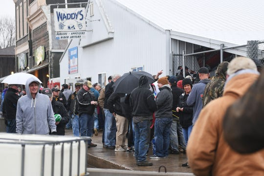 Thousands flock to Waddy's Bar for chance at more than $200K Wednesday, April 3, in Hudson.