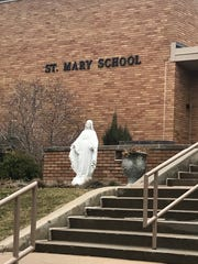 The school in Sioux Falls at 28th Street and 4th Avenue is named St. Mary School.